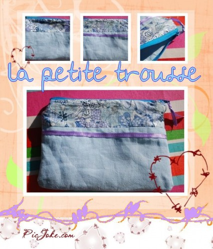 trousse, couture
